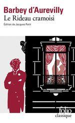 Vente Livre Numérique : Le Rideau cramoisi  - Jules Barbey d'Aurevilly