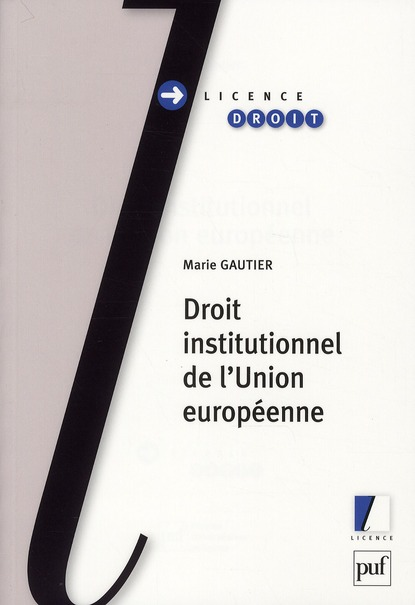 Droit institutionnel de l'Union européene