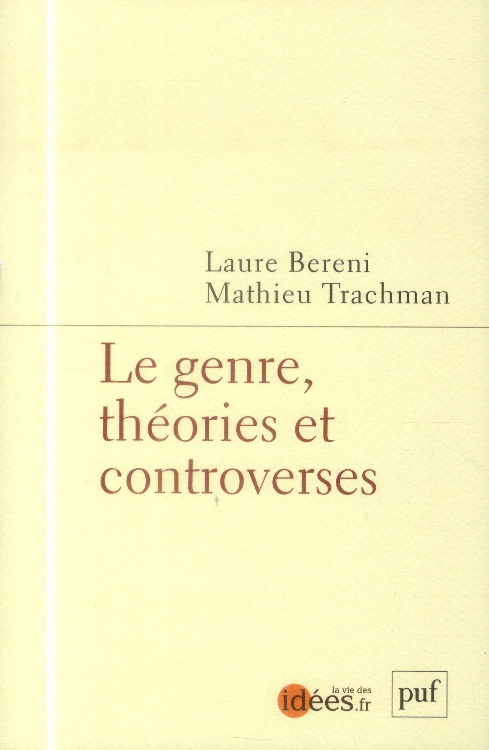 le genre ; théories et controverses