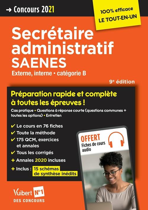 Concours secrétaire administratif et SAENES ; categorie B ; préparation rapide et complète à toutes les épreuves !