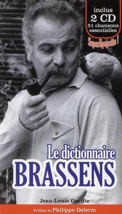 Le Dictionnaire Brassens
