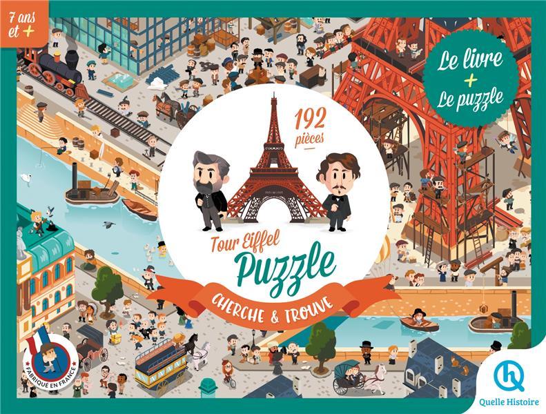 Tour Eiffel : puzzle cherche et trouve