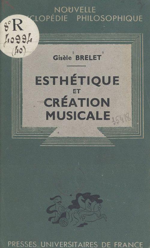 Esthétique et création musicale