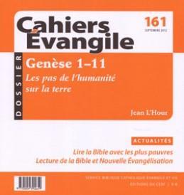 CAHIERS EVANGILE NUMERO 161 GENESE 1-11