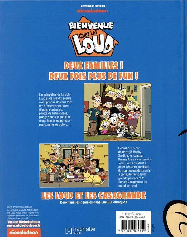 Bienvenue Chez Les Loud T 3 A Fond La Caisse Collectif Hachette Comics Grand Format Espace Culturel Leclerc St Leu