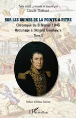 Vente Livre Numérique : Sur les ruines de la Pointe-à-Pitre  - Claude Thiebaut