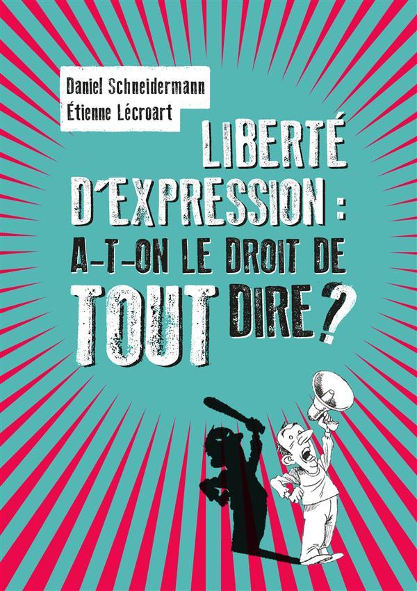 Liberté d'expression  parlons-en ! en toute liberté