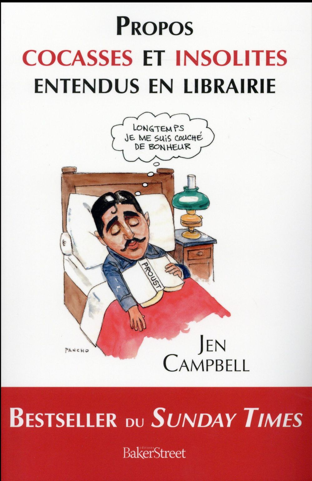 Propos cocasses et insolites entendus en librairie