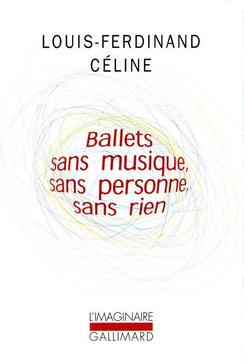 Ballets sans musique, sans personne, sans rien