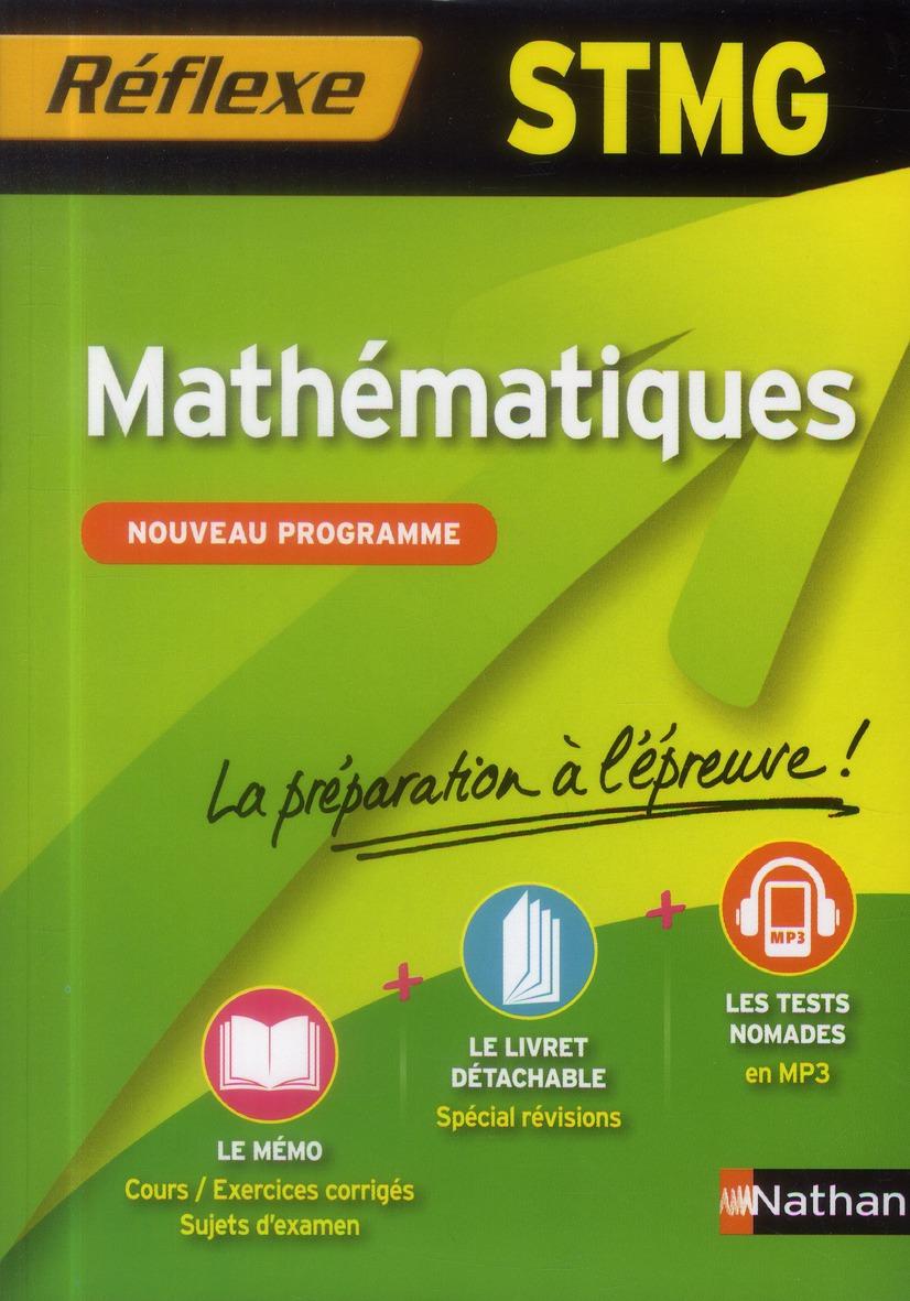 Memos Reflexes T.21; Stmg ; Mathematiques