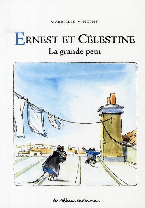 Ernest et Célestine ; la grande peur