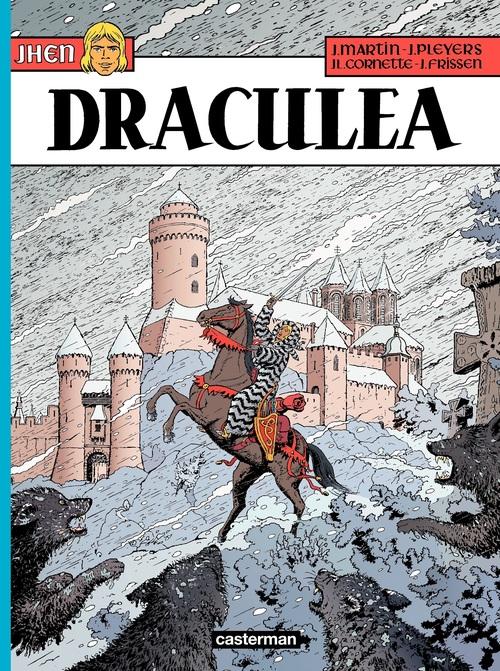 Jhen T.14 ; Dracula  - Jacques Martin  - Jean-Luc Cornette  - Jean Pleyers