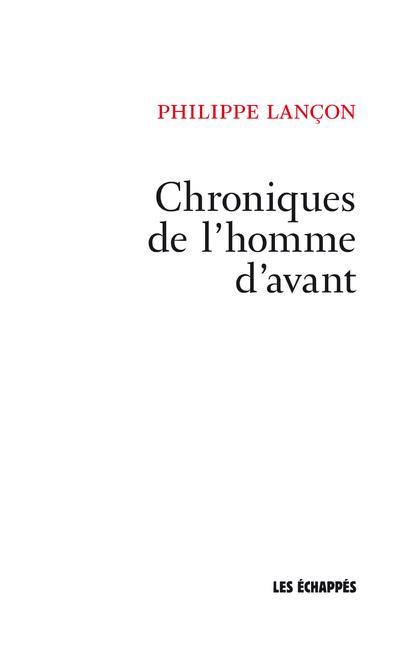 CHRONIQUES HOMME AVANT