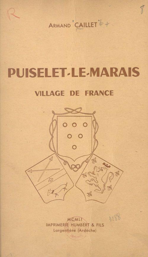 Puiselet-le-Marais, village de France