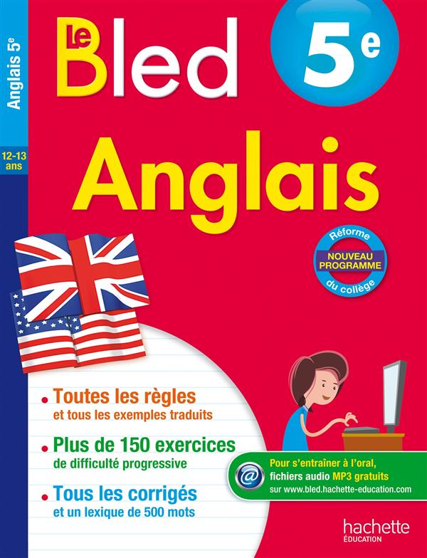 CAHIERS BLED  -  ANGLAIS  -  5EME  MICHOUX, ANDRE