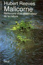 Vente Livre Numérique : Malicorne. Réflexions d'un observateur de la nature  - Hubert Reeves