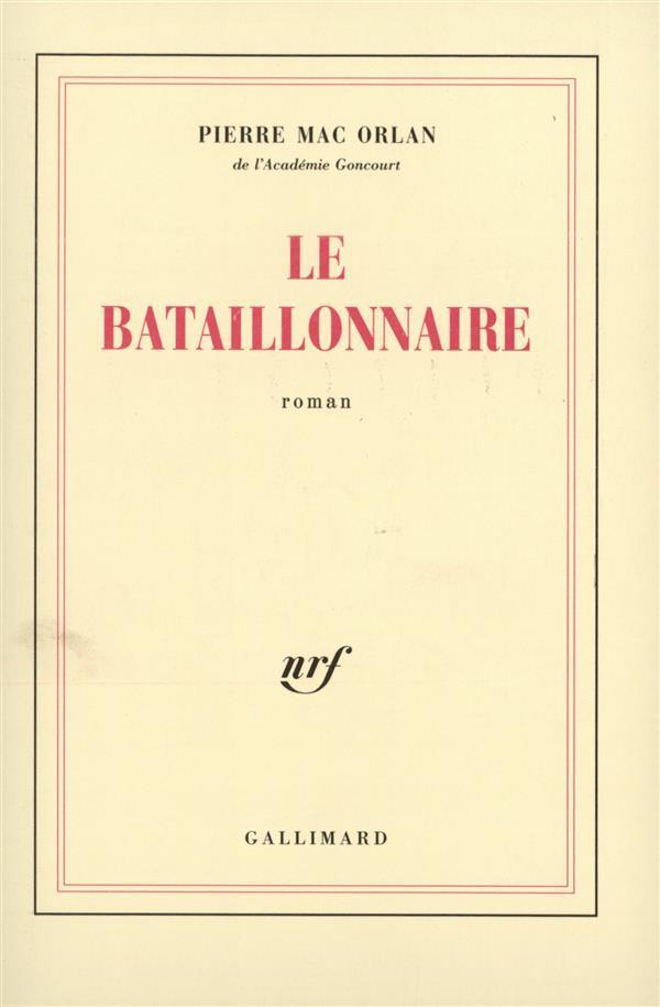 Le bataillonnaire
