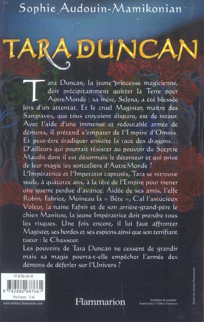 Tara Duncan t.3 ; le sceptre maudit