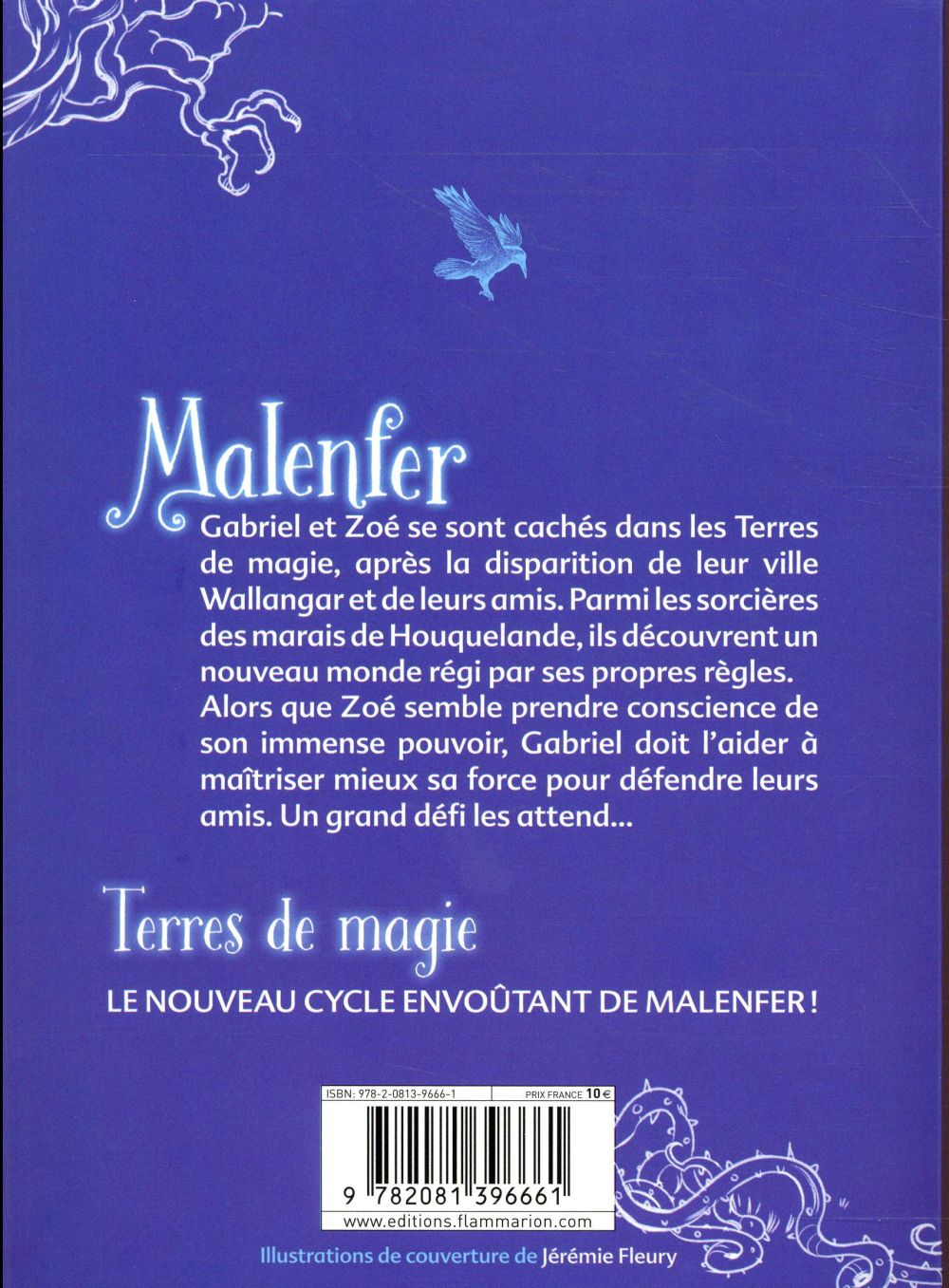 Malenfer t.4 ; les sorcières des marais