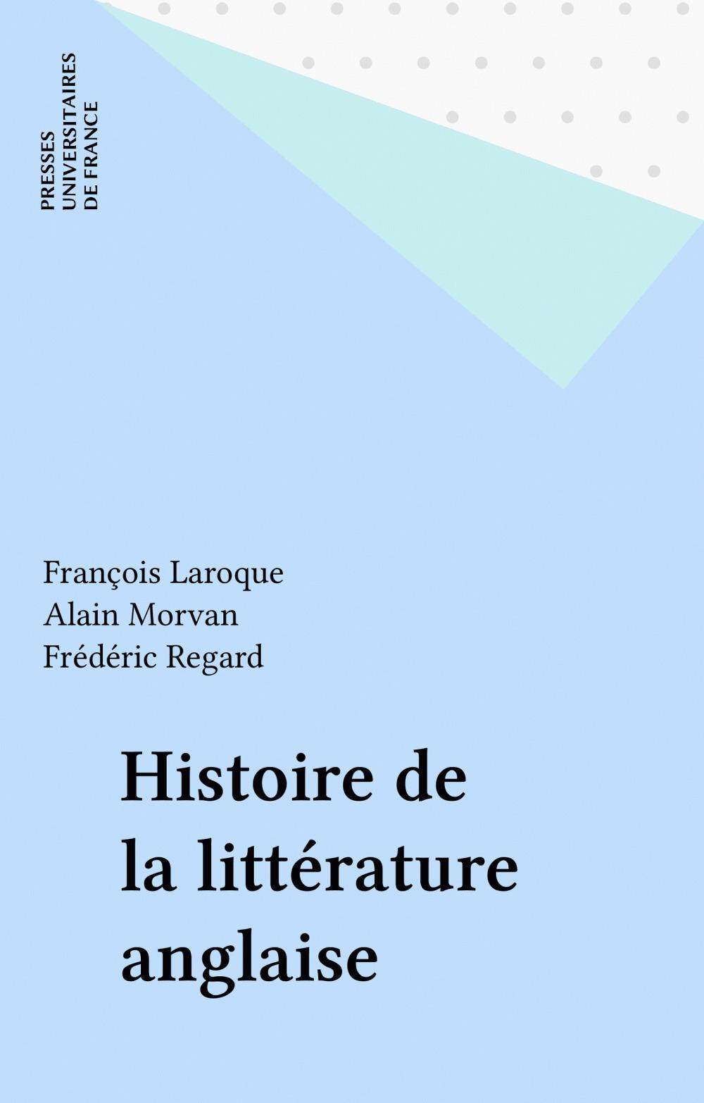 Histoire de la littérature anglaise