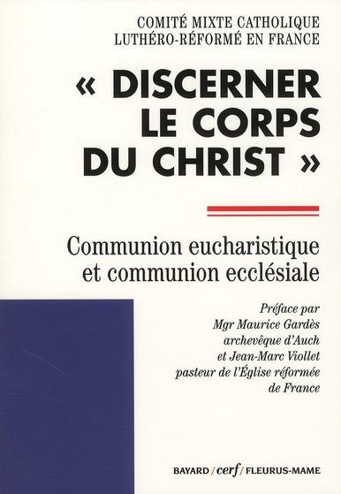 COMMUNION EUCHARISTIQUE ET COMMUNION ECCLESIALE