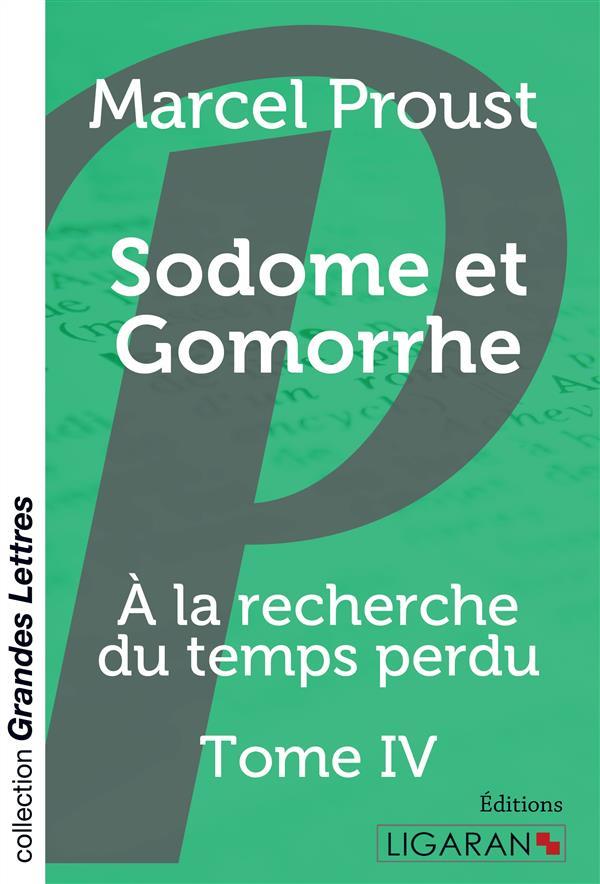 à la recherche du temps perdu t.4 ; Sodome et Gomorrhe
