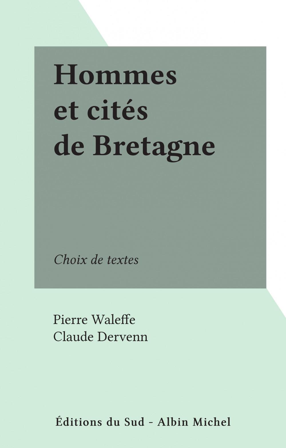 Hommes et cités de Bretagne