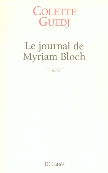 Le journal de myriam bloch
