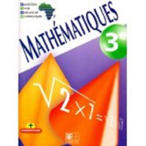Mathématiques ; 3ème ; livre de l'élève