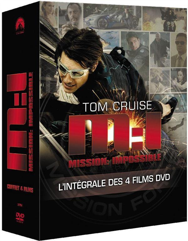 Mission : Impossible - L'intégrale des 4 films