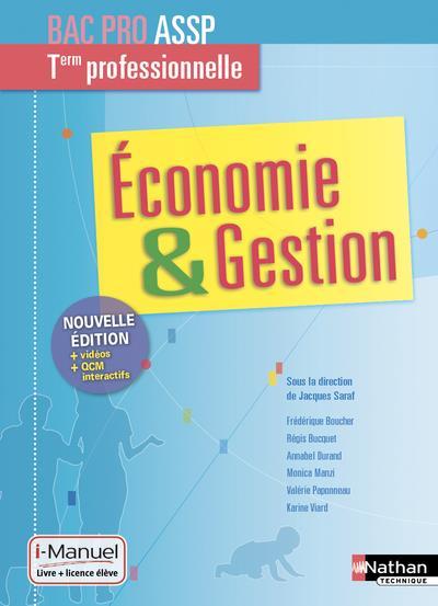 économie & gestion ; terminale professionnelle ; bac pro ASSP (édition 2019)