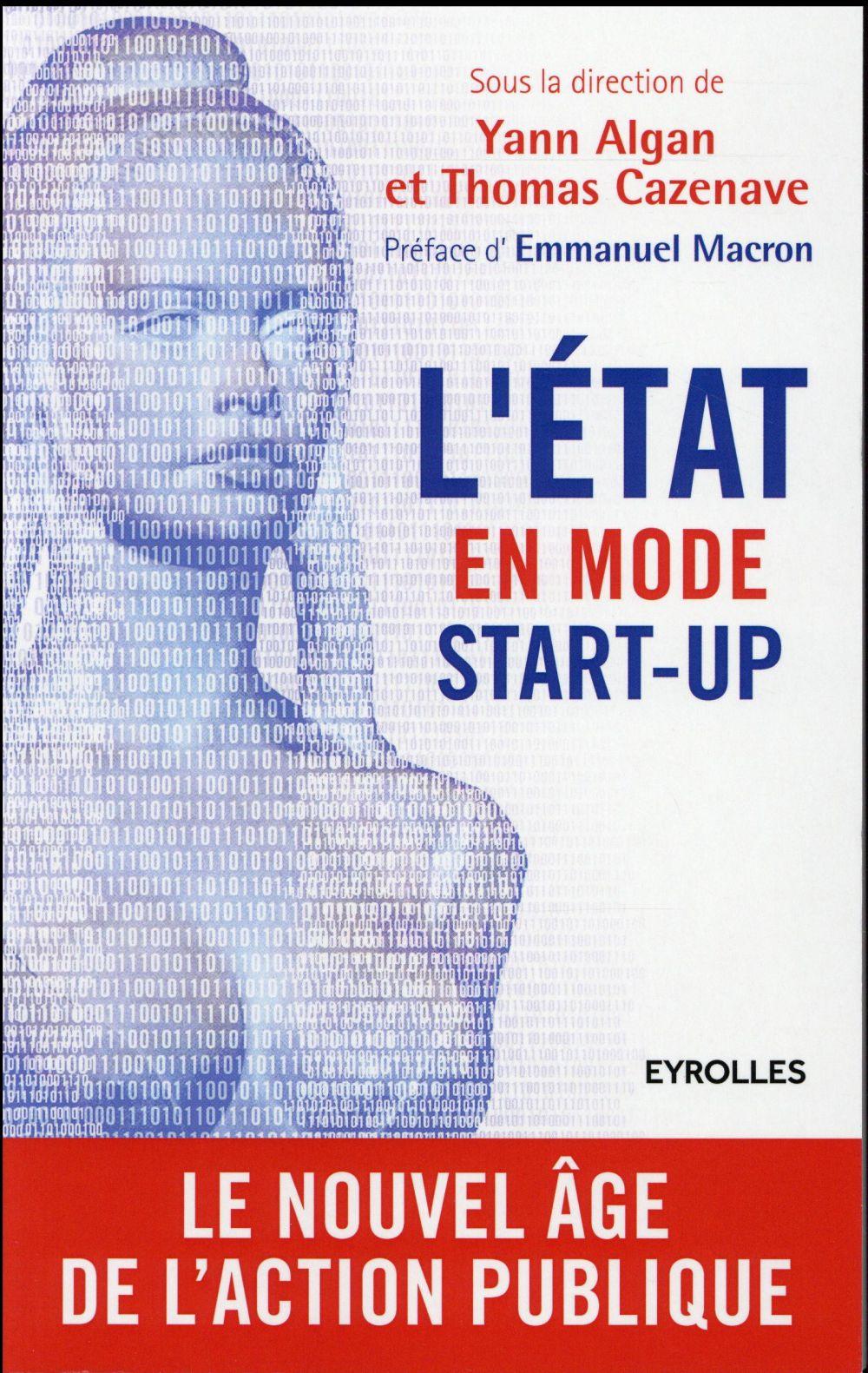 L'état en mode start-up ; le nouvel âge de l'action publique