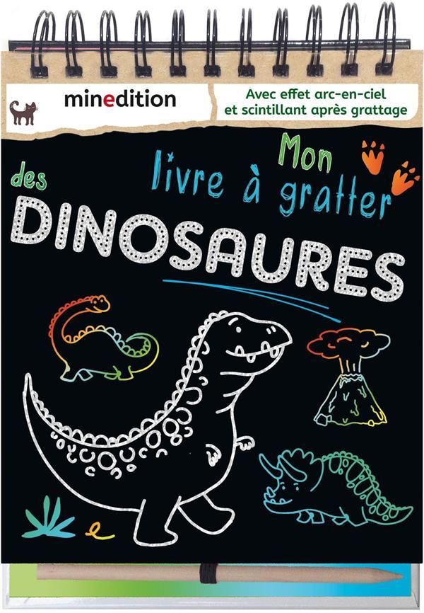 Mon livre à gratter des dinosaures