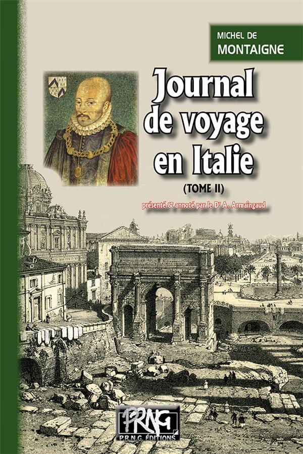 Journal de voyage en Italie t.2