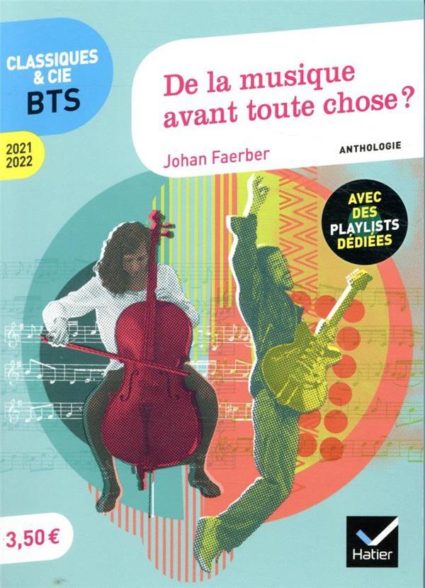 DE LA MUSIQUE AVANT TOUTE CHOSE ?  -  ANTHOLOGIE (EDITION 20212022)