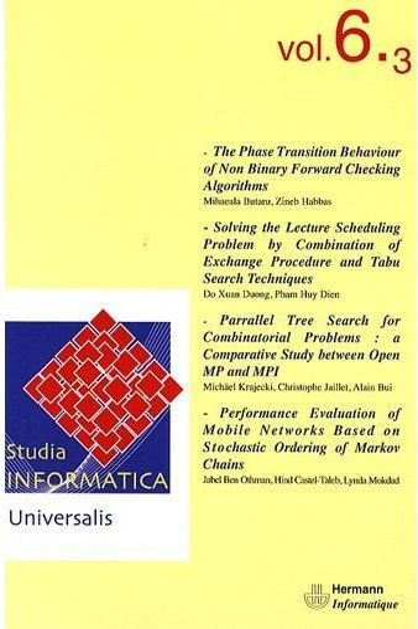 Studia Informatica Universalis T.6