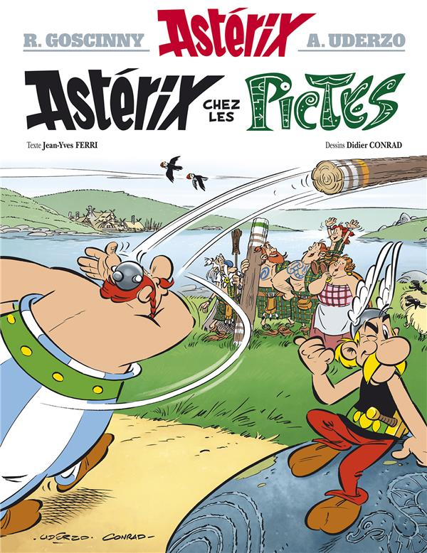 Astérix T.35 ; Astérix chez les Pictes