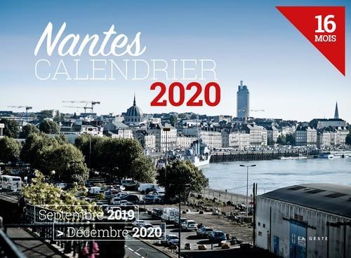 Calendrier 2020 ; Nantes