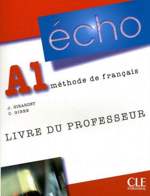 Echo A1 Livre Professeur