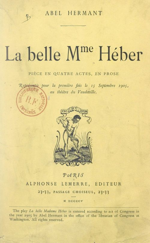 La belle Mme Héber