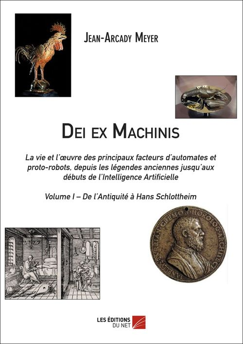 Dei ex machinis t.1 ; de l'Antiquité à Hans Schlottheim
