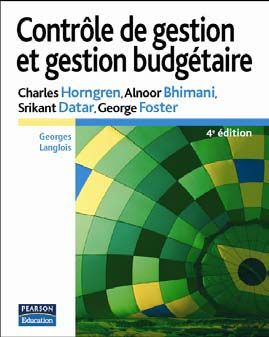 Controle De Gestion Et Gestion Budgetaire 4e Ed.