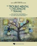 Du trouble mental à l'incapacité au travail  - Durand Marie-Josee - Marc Corbière