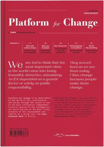 Platform for change a farm cultural park guide