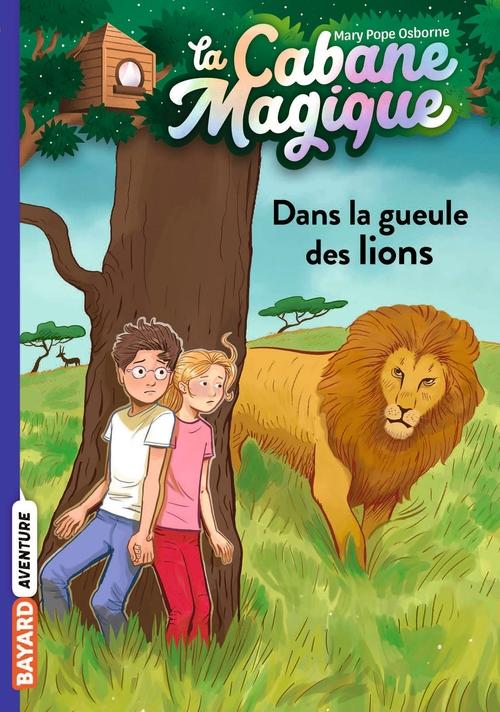 La cabane magique T.14 ; dans la gueule des lions