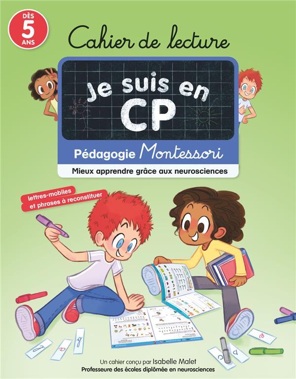 je suis en CP ; cahier de lecture