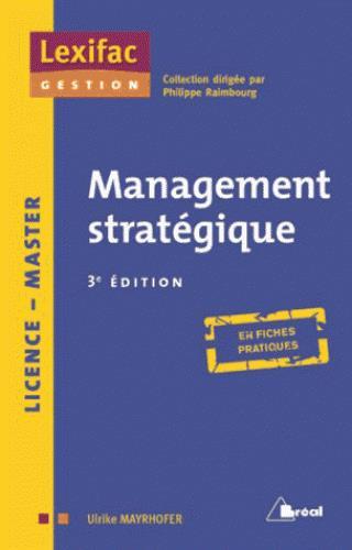 Management Strategique (3e Edition)