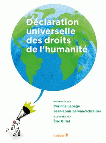 Déclaration universelle des droits de l'humanité illustrée