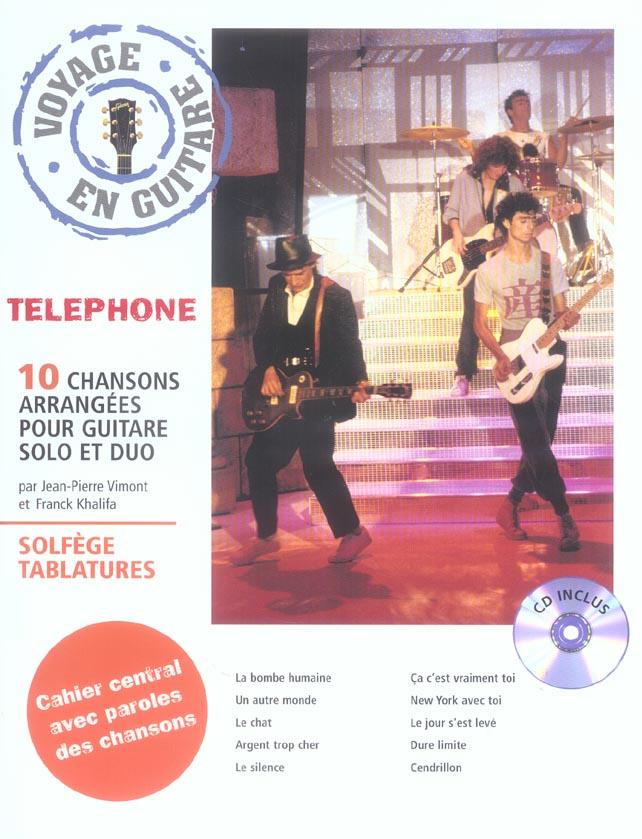 Voyage en guitare telephone
