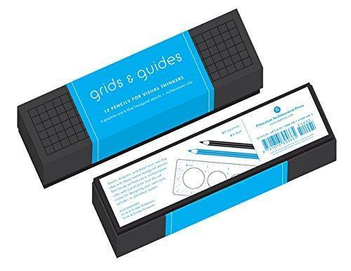GRIDS & GUIDES - 12 PENCILS FOR VISUAL THINKERS ANGLAIS